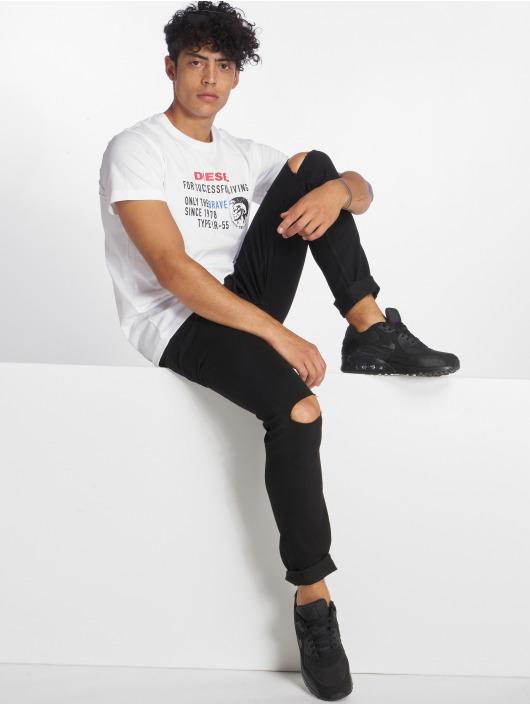 Diesel T-Shirt T-Diego-Xb white