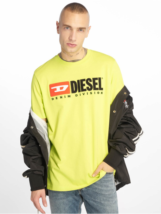 Diesel T-Shirt Just-Division yellow