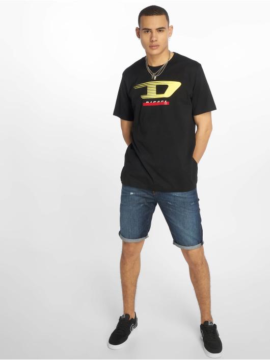 Diesel t-shirt Just-Y4 zwart