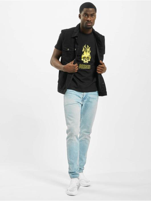 Diesel t-shirt T-Diego-A11 zwart