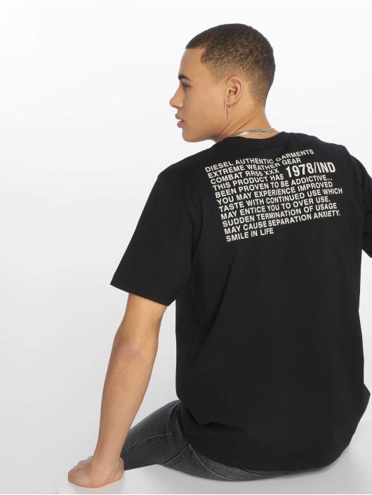 Diesel T-Shirty Just-Y1 czarny