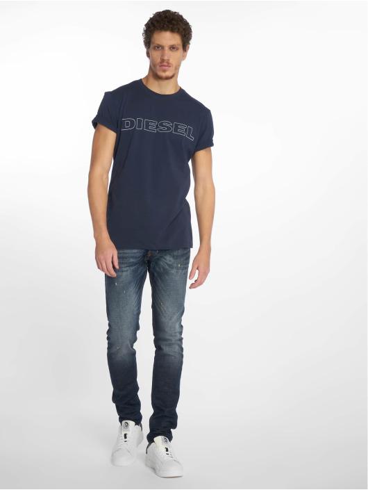 Diesel T-Shirty UMLT-Jake niebieski