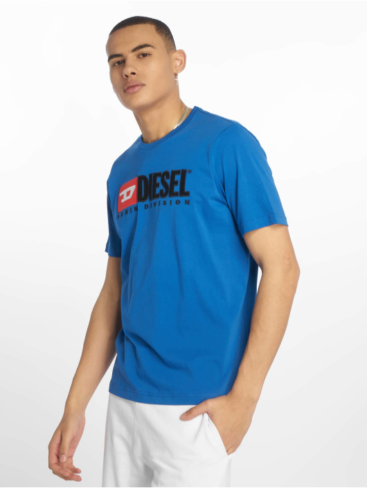Diesel T-Shirty Just-Division niebieski