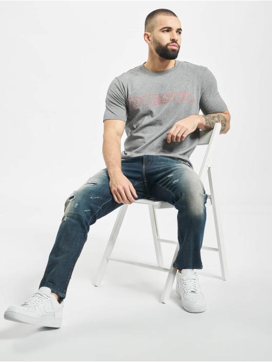 Diesel T-Shirty UMLT-Jake szary