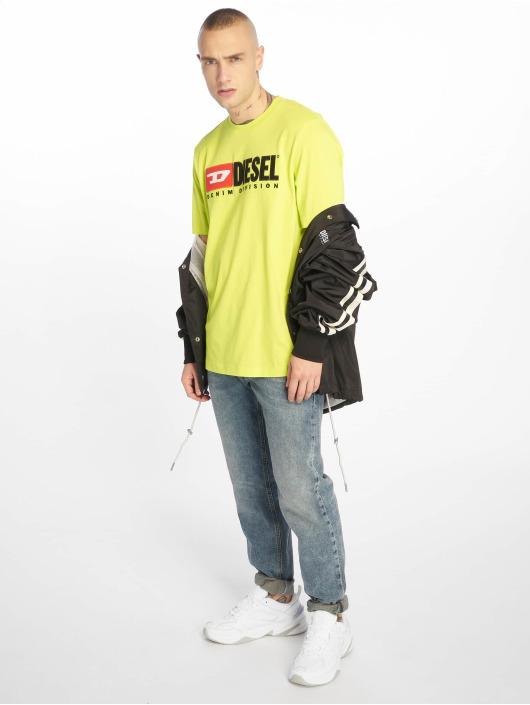 Diesel T-skjorter Just-Division gul