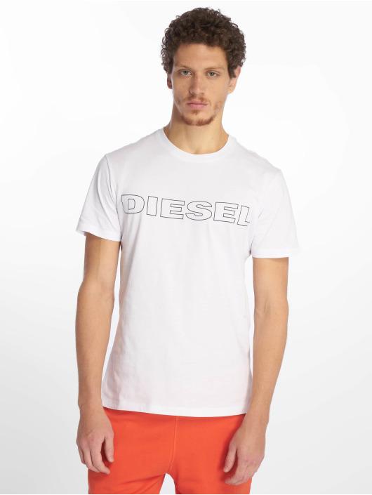 Diesel T-skjorter UMLT-Jake hvit