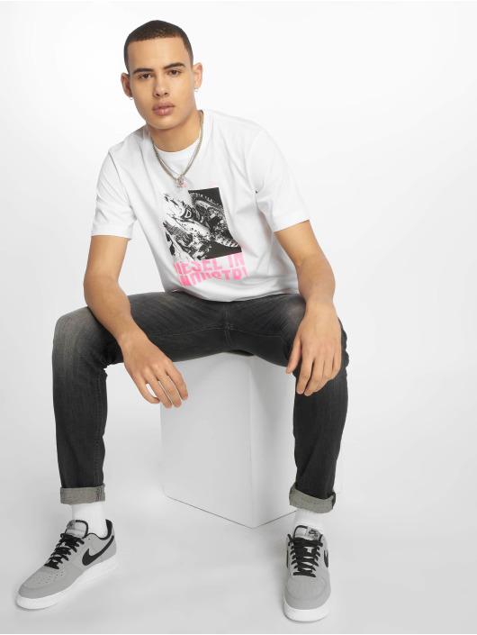 Diesel T-skjorter Just-Y3 hvit