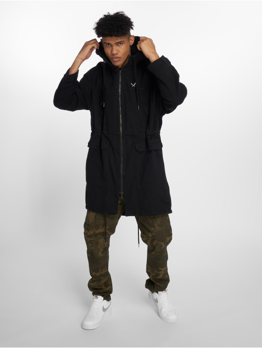 Distorted People Parka DNA Classic nero