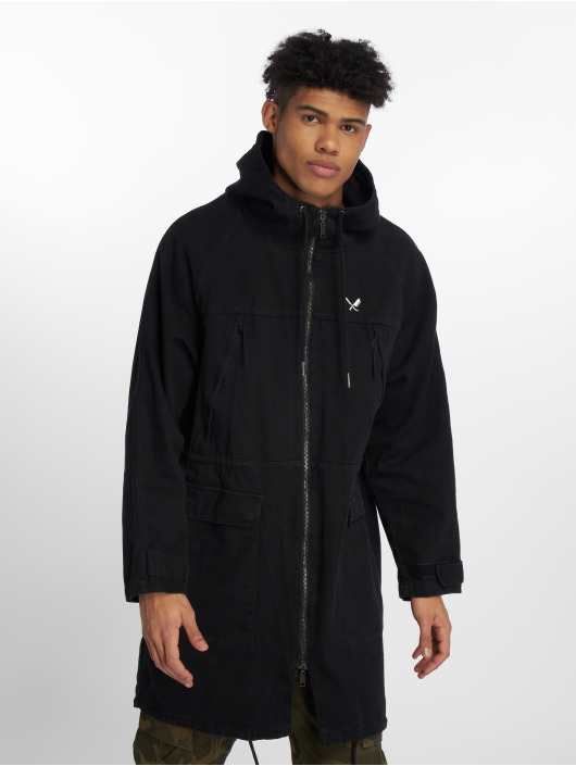 Distorted People Parka DNA Classic schwarz