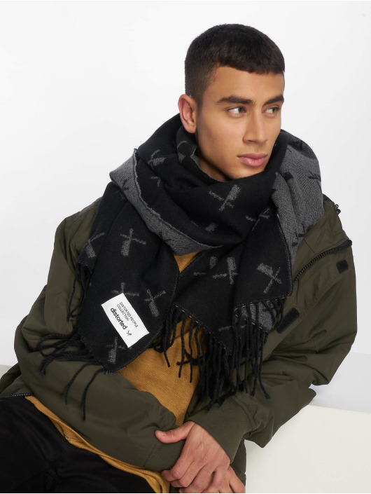 Distorted People Scarve / Shawl DP Collection Allover Blades black