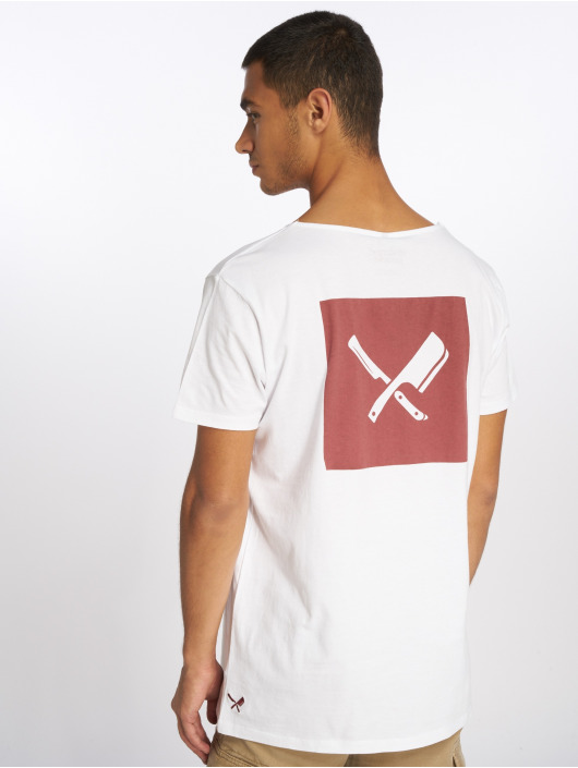 Distorted People T-Shirt People Boxed blanc