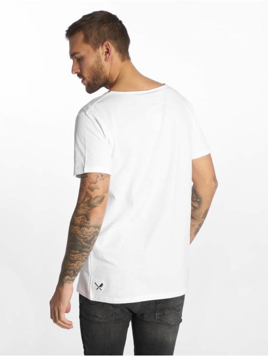 Distorted People T-skjorter BB Blades Cutted hvit