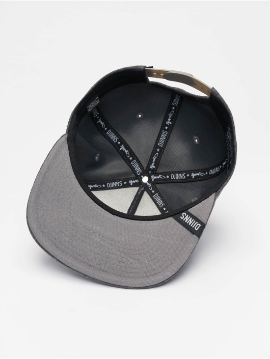 Djinns 5 Panel Cap Get High Felt 5 gray