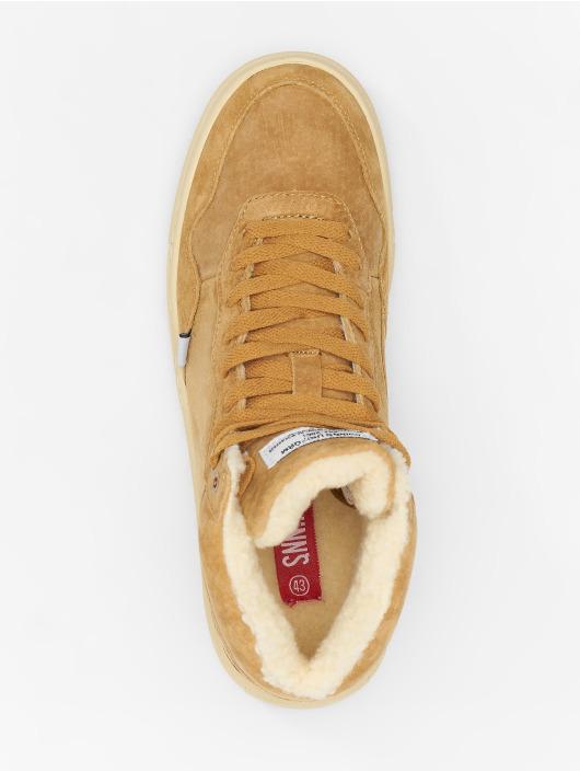 Djinns Baskets Highwaik Fur Suede beige