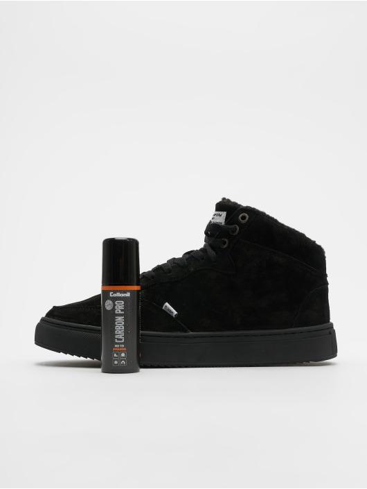 Djinns Baskets Highwaik Fur noir