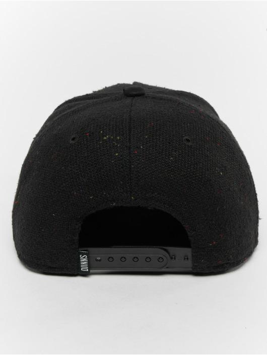 Djinns Snapback Cap 5p Spotted Edge black