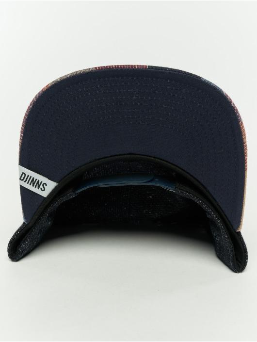 Djinns Snapback Cap 5p Wov Spot blue