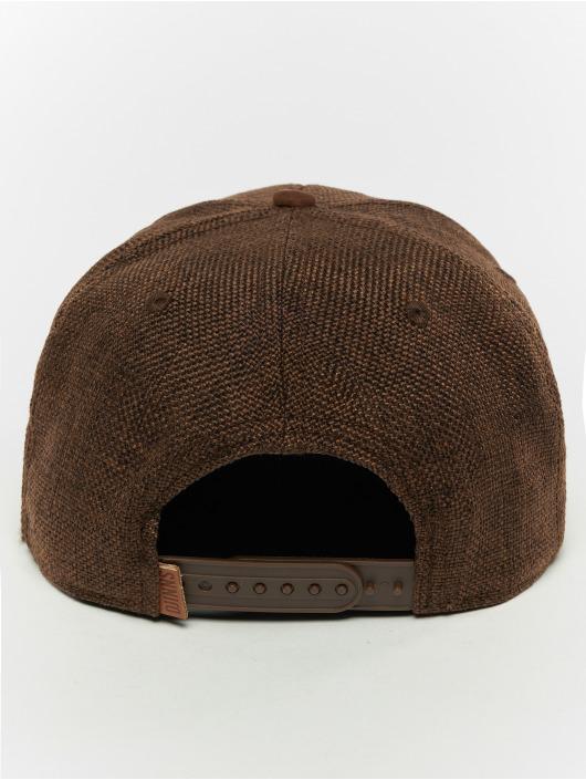 Djinns Snapback Cap 6p Suelin brown