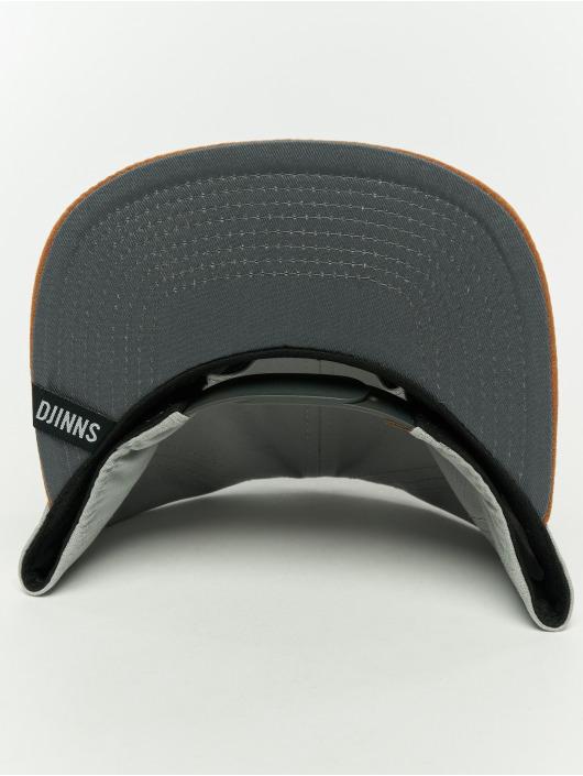 Djinns Snapback Cap 6p 10oz gray