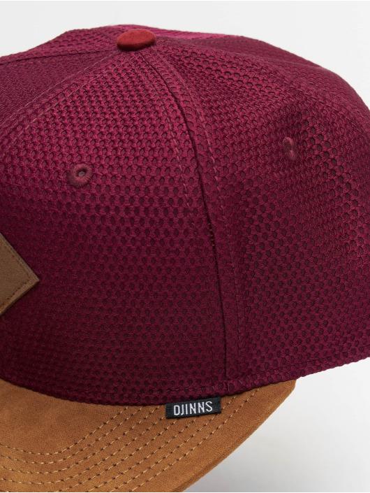 Djinns Snapback Cap 6P Honey red