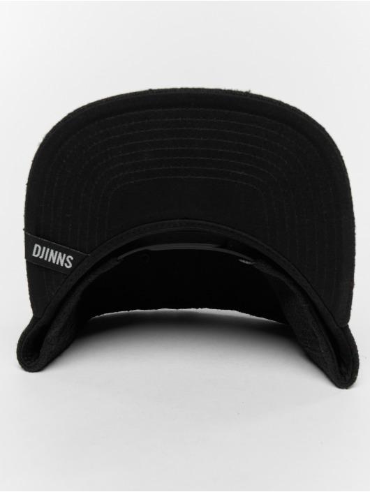 Djinns Snapback Caps 5p Spotted Edge svart