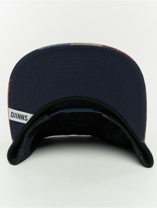 Djinns Snapback Caps 5p Wov Spot svart