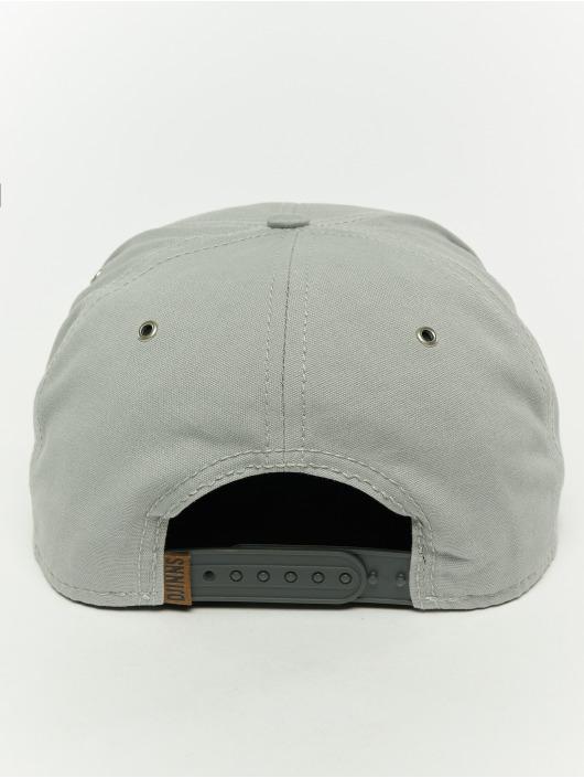 Djinns Snapback Caps 6p 10oz szary