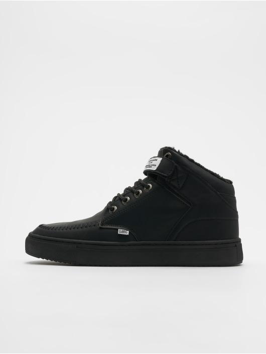 Djinns Sneaker 3.0 Fur P-Leather schwarz