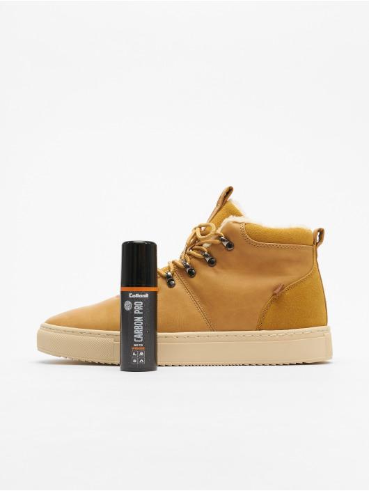 Djinns Sneakers Trek High Fur P-Leather bezowy