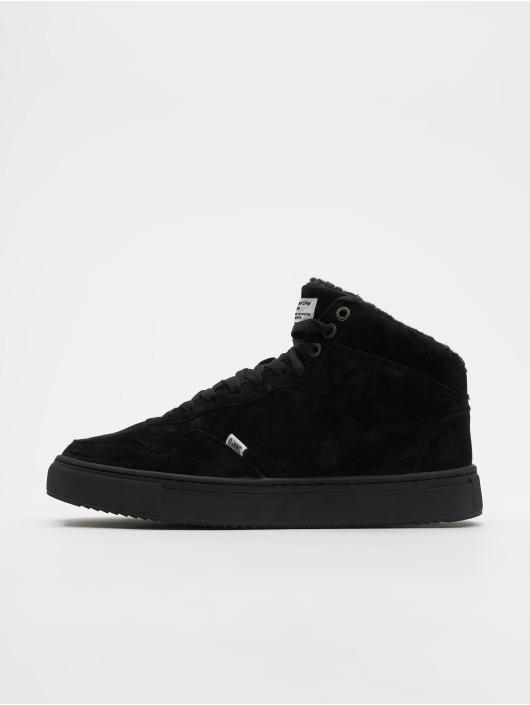Djinns Sneakers Highwaik Fur black