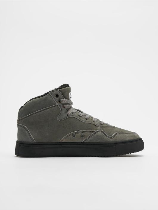 Djinns Sneakers Highwaik Fur gray