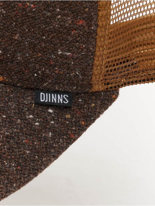 Djinns Trucker Cap HFT Ultra Spots High Fitted brown