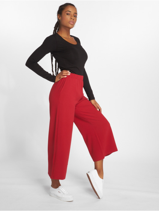 Dr. Denim Chino Abel Trousers red