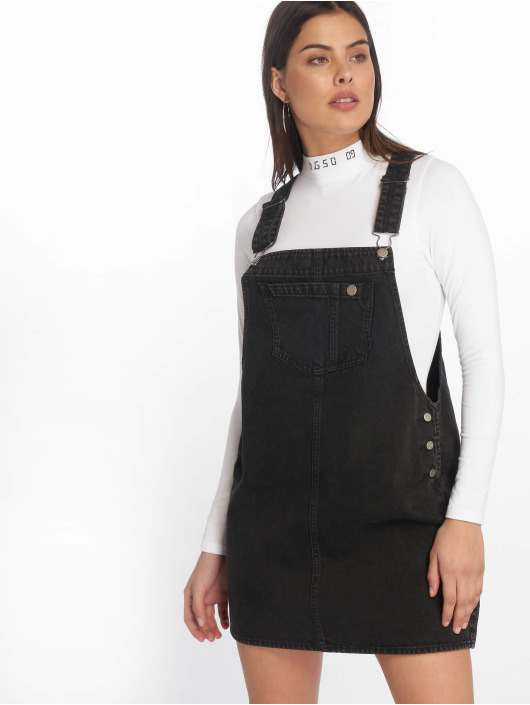 625ee546f155ba Dr. Denim   jurk Eir Dungaree in zwart 625026