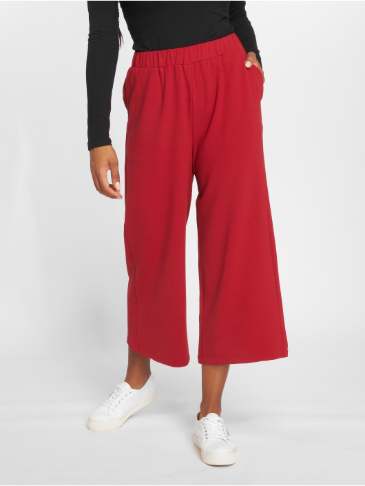 Dr. Denim Pantalon chino Abel Trousers rouge