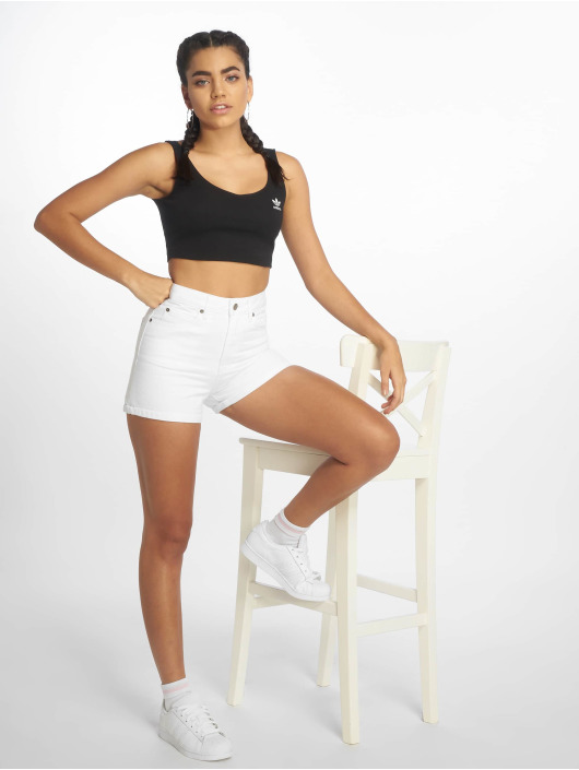 Dr. Denim Shorts Jenn hvit