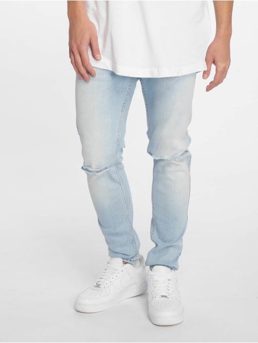 Dr. Denim Slim Fit Jeans Clark blau