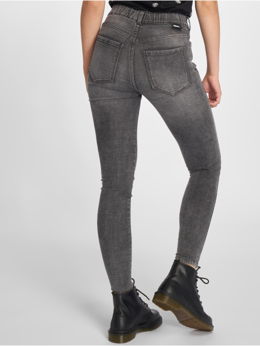 Dr. Denim Tynne bukser Lexy grå