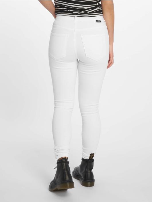 Dr. Denim Tynne bukser Lexy hvit