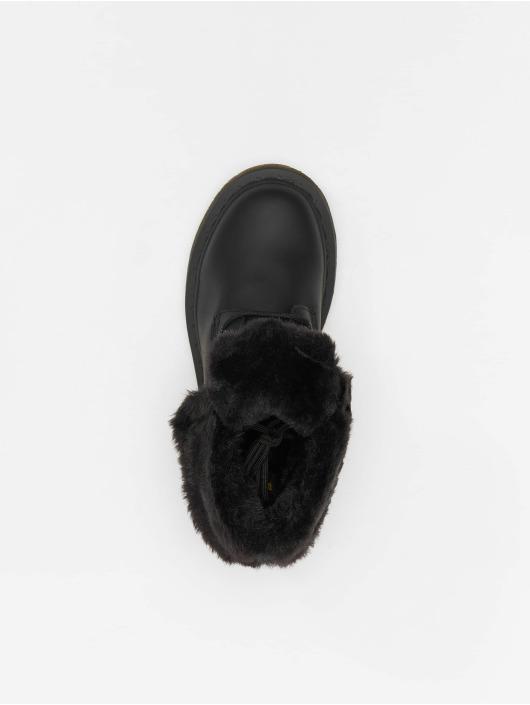 Dr. Martens Boots Kolbert Waxy Suede WP 8-Eye Snowplow negro