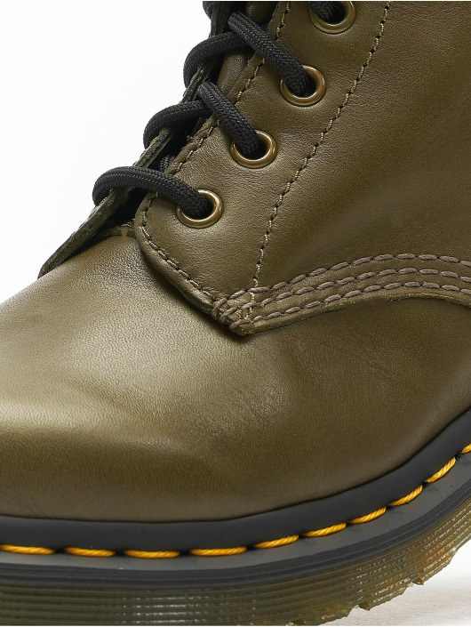Dr. Martens Boots Pascal 8 Eye olijfgroen