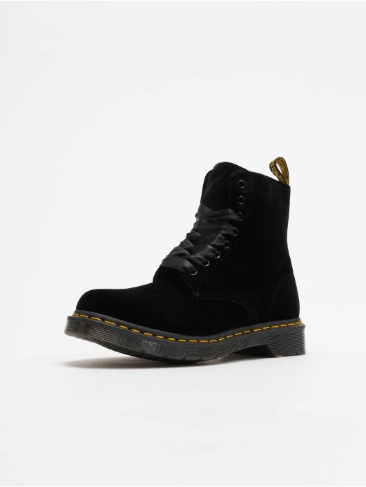 Dr. Martens Boots Pascal Velvet 8-Eye schwarz