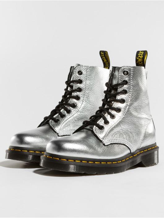 368d2810b96878 Dr. Martens Damen Boots Pascal MET Santos in silberfarben 497841
