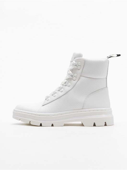 Dr. Martens Boots Combs Tract white