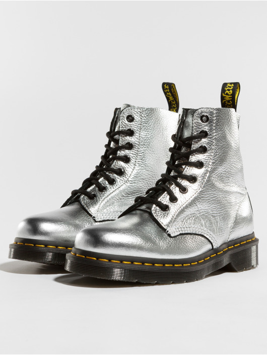 Dr. Martens Boots Pascal MET Santos zilver