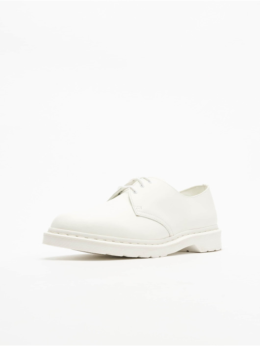 Dr. Martens Chaussure basse 1461 3 Eye Low blanc