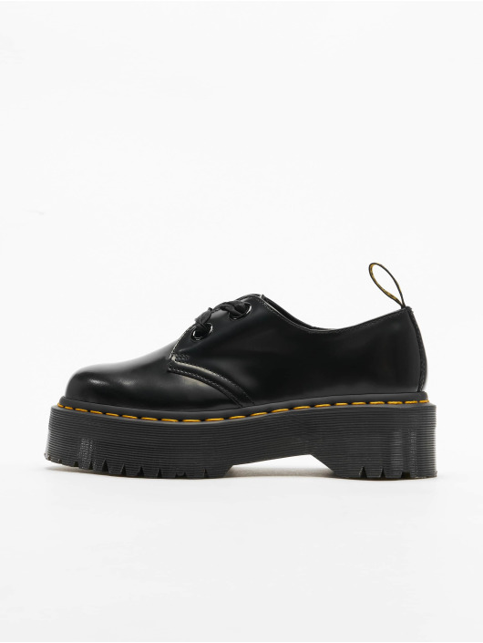 Dr. Martens Chaussure basse Holly Plateau 6 Eye Low noir