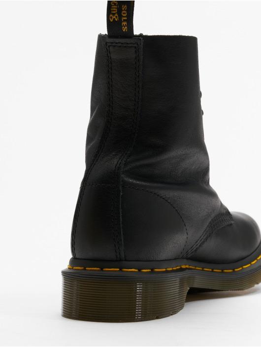 f0f406ed15538 Dr. Martens   Pascal Virginia 8-Eye noir Femme Chaussures montantes ...