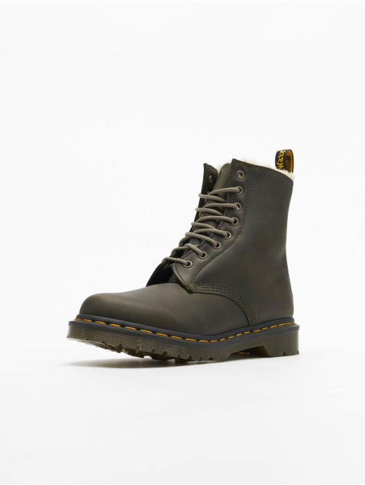 Dr. Martens Chaussures montantes Serena 8 Eye Fur Lining olive