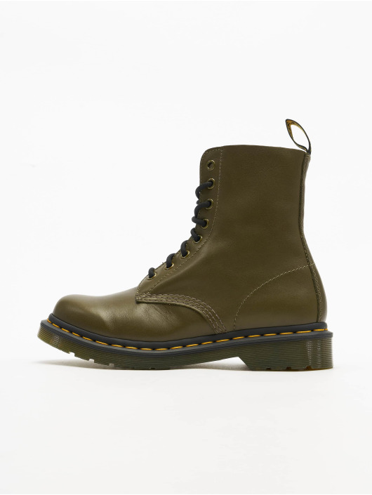 Dr. Martens Chaussures montantes Pascal 8 Eye olive